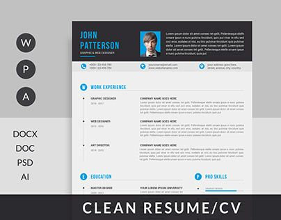 "Check out new work on my @Behance portfolio: ""Resume/CV"" http://be.net/gallery/57335575/ResumeCV"