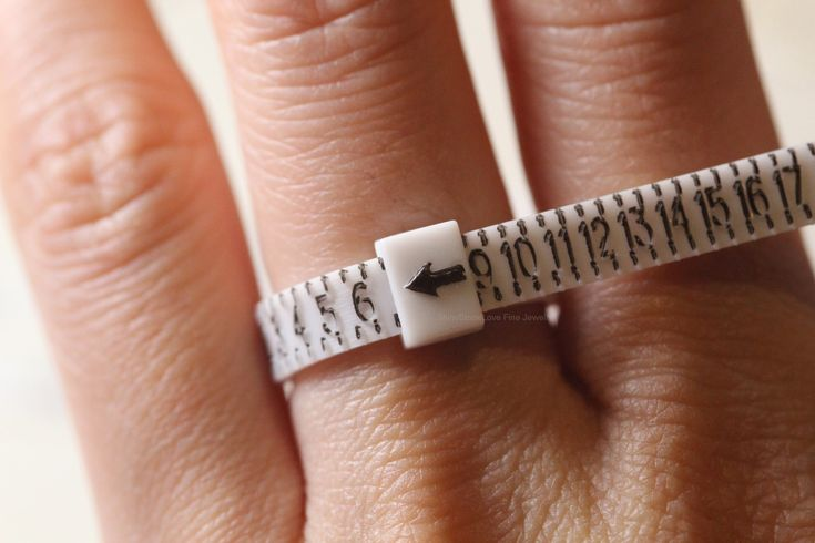 How to measure your ring size at home ring sizer ring size