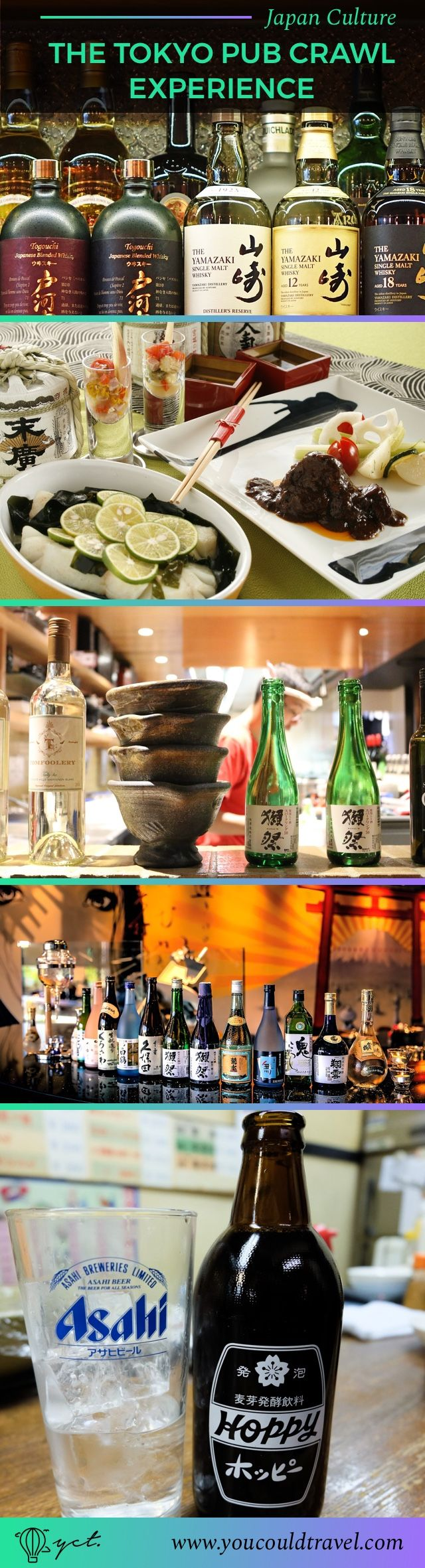 Our Tokyo Pub Crawl turned out to be a lot of fun. We got to try lots of Japanese drinks such as sake, Hoppy and a double pint of whisky soda. We were taken to lots of Izakayas, all hidden Japanese bars. Ready to have an alcoholic adventure?