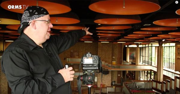 In this episode of OrmsTV we set off to the Baxter Theatre with Roger Machin in order to shoot some images with Canon's super wide angle EF 11-24mm Lens.