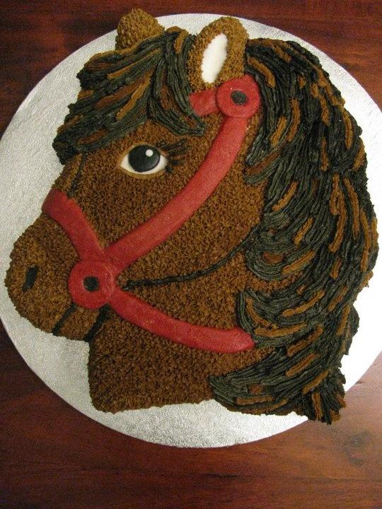 wilton horse head cake pan