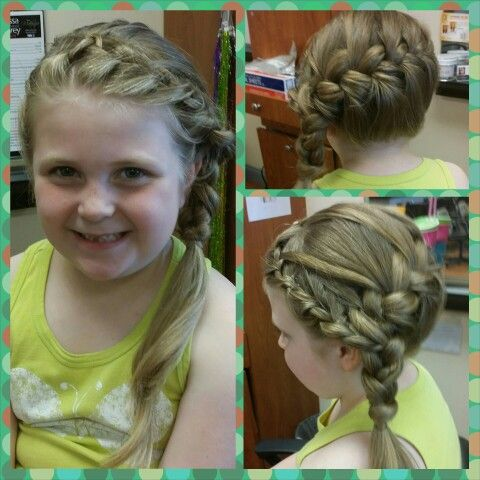 Waterfall Into A Side Braid Hair By Melissa Snarey