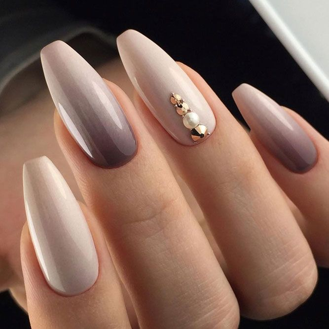 Stunning Mauve Color Nails To Squeal With Delight From – Hair & Make up & nails