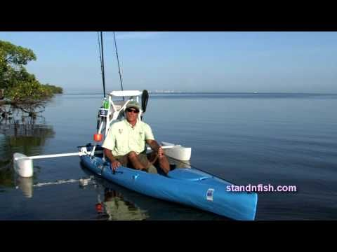 Stand N Fish Stand and Fish  Intro. Kayak Pontoon System intro HD final version