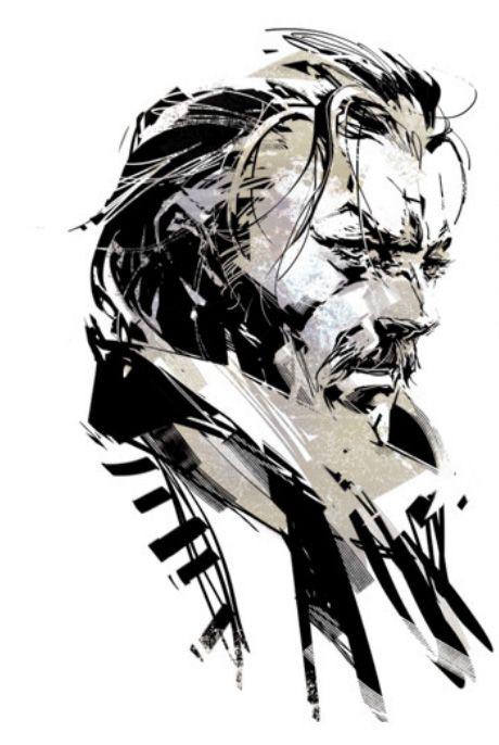 mgs big boss art - Google Search