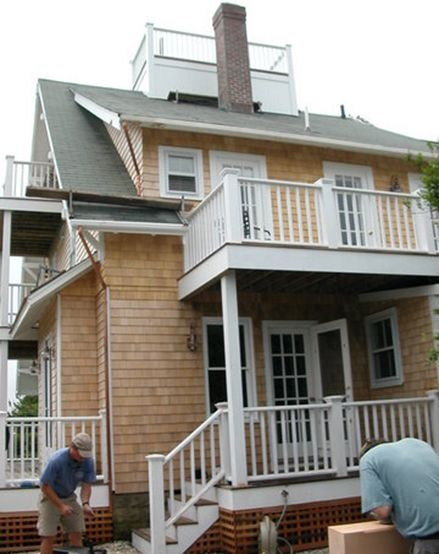 Shed Dormer With Balcony Hazard St Pinterest Porch