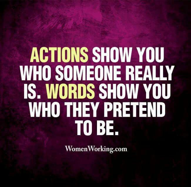 #actions #words #pretend