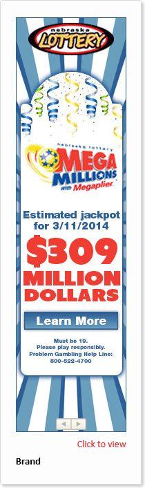 Adacado Nebraska Lottery ad