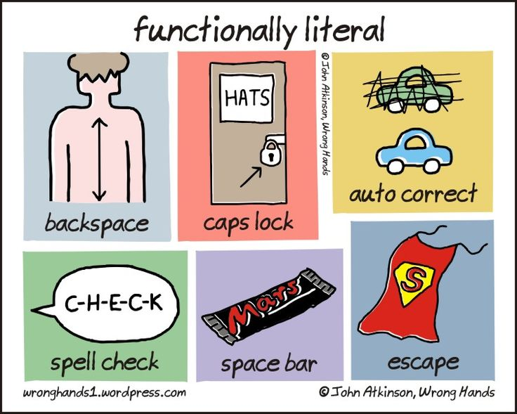 http://wronghands1.files.wordpress.com/2013/11/functionally-literal.jpg100 Site, Cartoons Version, Functional Liter, Des Blogueur, Fun Stuff, Techie Stuff, English Languages, Geek Chic, Geek Humour