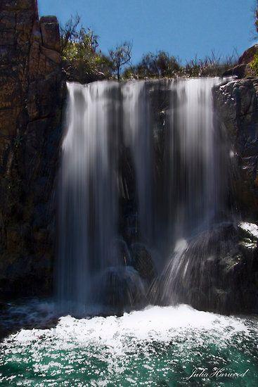 Quinninup Falls, Yallingup, Western Australia by Julia Harwood
