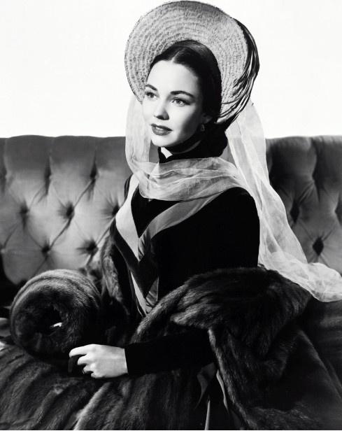Jennifer Jones in Vincente Minnelli's Madame Bovary 1949 - MGM Costume by Walter Plunkett