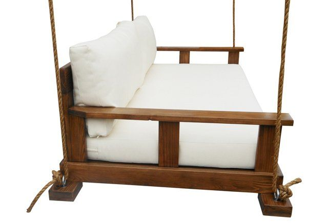 Savannah Bedswing, White | A Space for You | One Kings Lane