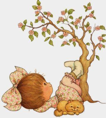 Dibujos De Muñecas Tiernas arbol