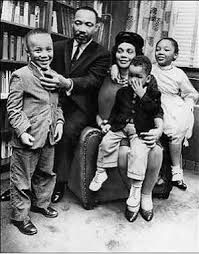 Martin, Coretta, and Family