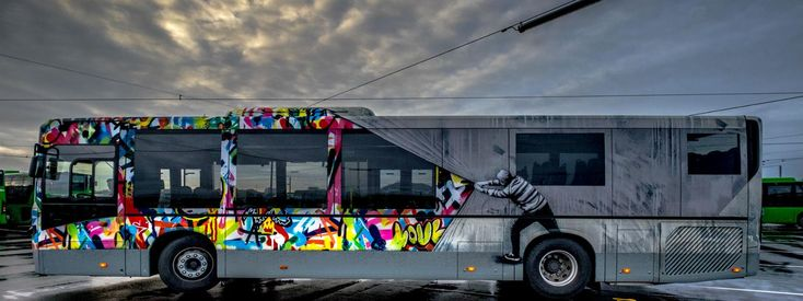 Plan your stay with Region Stavanger.  Nuart Street Art Buses