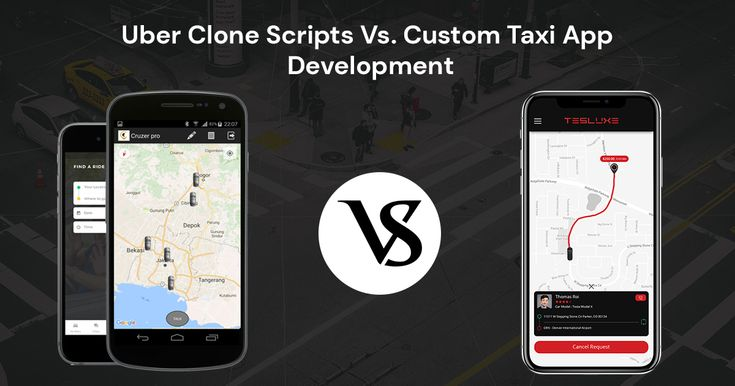 Uber Clone Scripts to Build Your Own Custom Taxi App