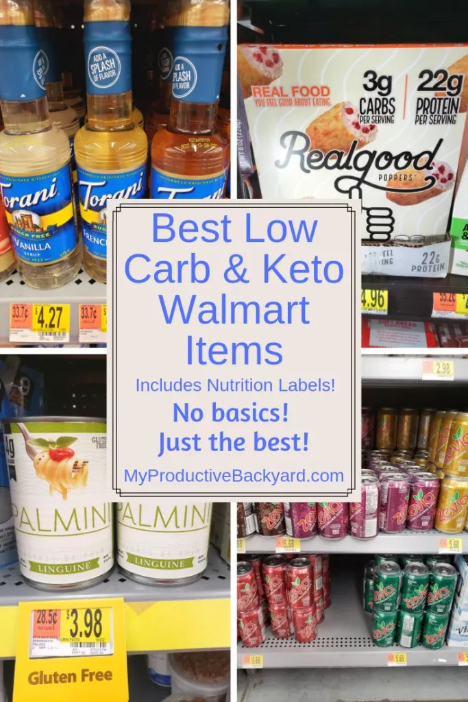 Best 60 Low Carb Keto Walmart Items (With images) Keto