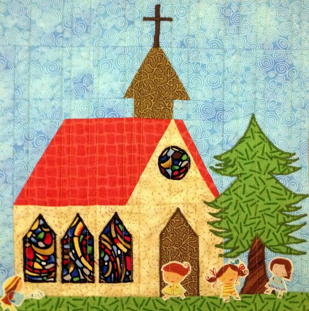 Starwood Quilter: My House Quilt - Church Block