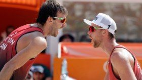 A second round victory has enhancedBen Saxton and Chaim Schalk's chances to get a spot in the next stage of...