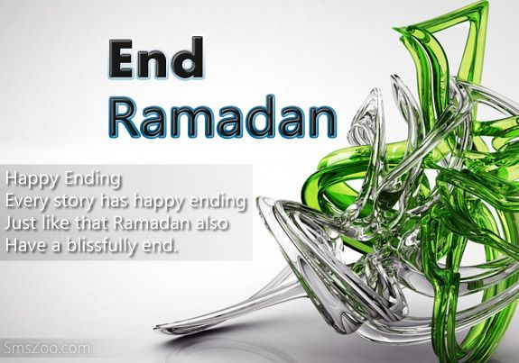 Happy End Ramadan Wishes Sms