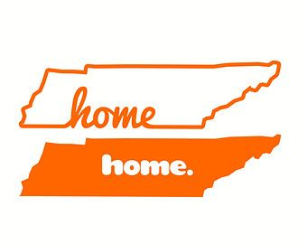 Tennessee svg cutting files | Home Sweet Home, Tennessee, Love, S VG, DXF, Cut Files for Cricut ...