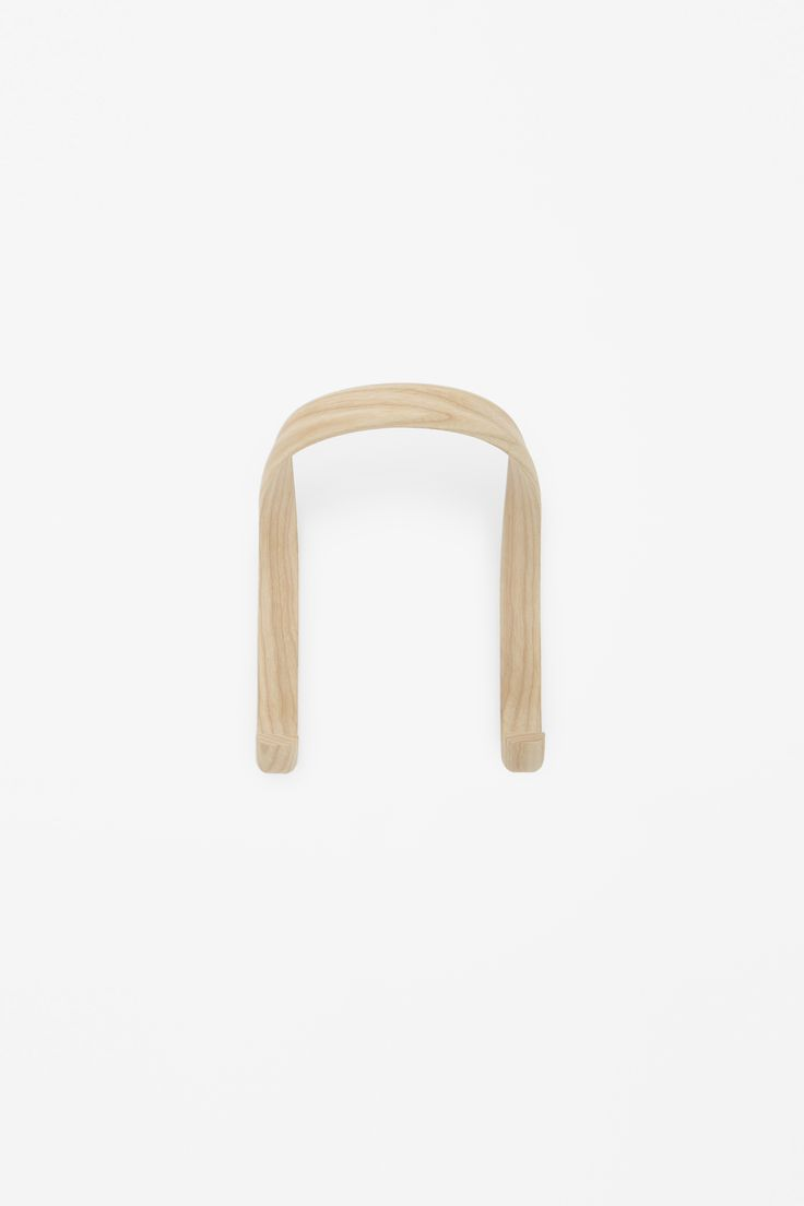 COS × HAY wishlist | Curved wooden hook