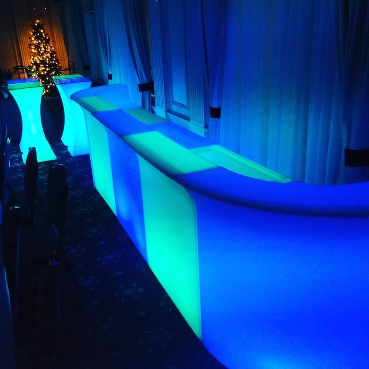#Castle #Party #Rental beginning  #NewYearsEve #event setups today. It's going to be quite the #celebration at #Union #League #Club of #Chicago. Tons of #LEDfurniture to #ring in #2018! For the best #partyrental inventory #decor options and #entertainment selections look no further than #CPR!