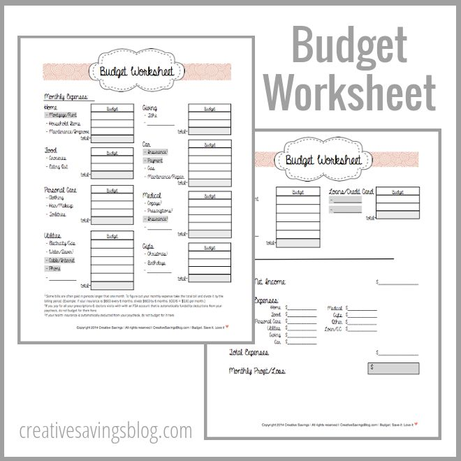 39 best Budget images on Pinterest Finance, Money and Organizers