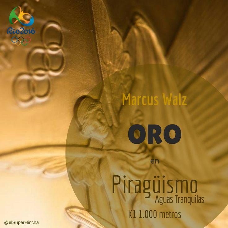 Sexta Medalla de #ESP en #Rio2016:  Oro de Marcus Walz en Piragüismo Aguas Tranquilas, K1 1.000 metros - - - - - - - - - - - - - - - - - - - - - - - - - - - - - - - - - - - - -  16/08/2016 - - - - - - - - - - - - - - - - - - - - - - - - - - - - - - - - - - - - - - #JuegosOlimpicos #JuegosOlimpicosRio2016 #JuegosOlimpicos2016 #Piragüismo #PiragüismoAguasTranquilas #PiragüismoVelocidad #CanotajeSprint #CanotajeVelocidad #Medallas #Oro #TeamEsp #RioRTVE