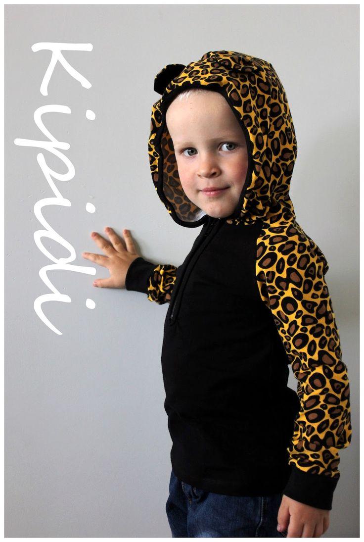 OB 4/2012 Autumn forest hoodie/ huppari
