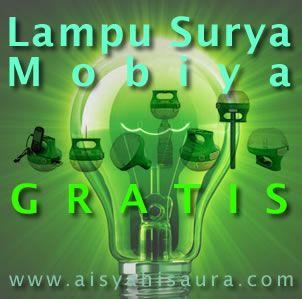 Lebih dari 1.800 unit Lampu Surya Mobiya LED portabel akan dibagikan gratis untuk masyarakat pedesaan di 12 negara di Asia Pasifik.