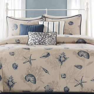 Shop for Madison Park Nantucket 7-piece Comforter Set. Get free shipping at Overstock.com - Your Online Fashion Bedding Outlet Store! Get 5% in rewards with Club O! - 15730193
