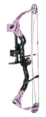 Click Image Above To Purchase: Quest By G5 Torch Realtree Pink Compound Bow Package