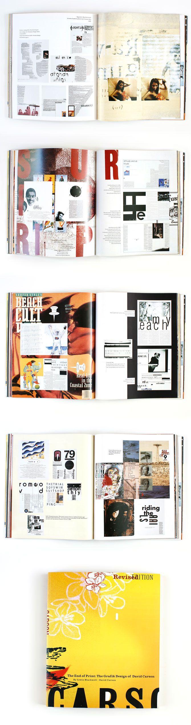 David Carson - New #magazine #graphic #design