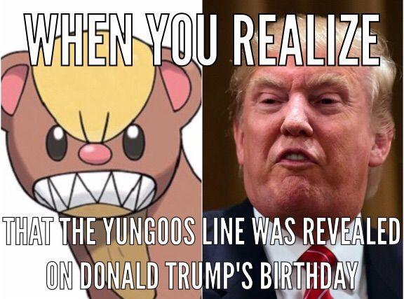 46++ Yungoos trump ideas