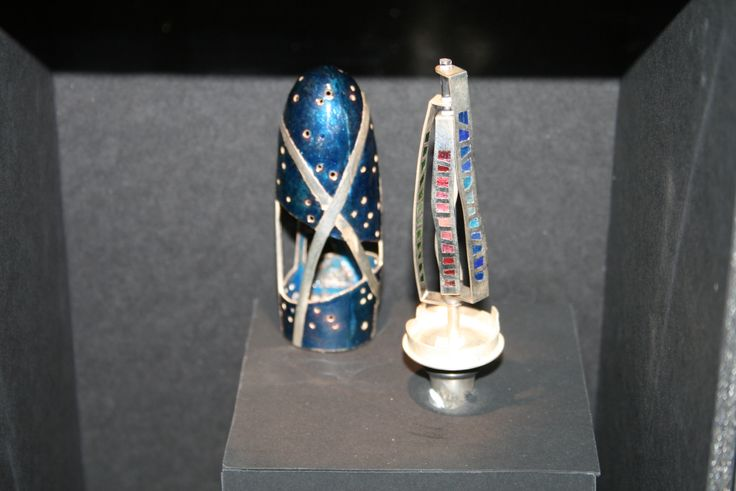Diálogo a3 / Joyería / Platería Artística / Esmalte al fuego / Museo Nacional de Artes Decorativas
