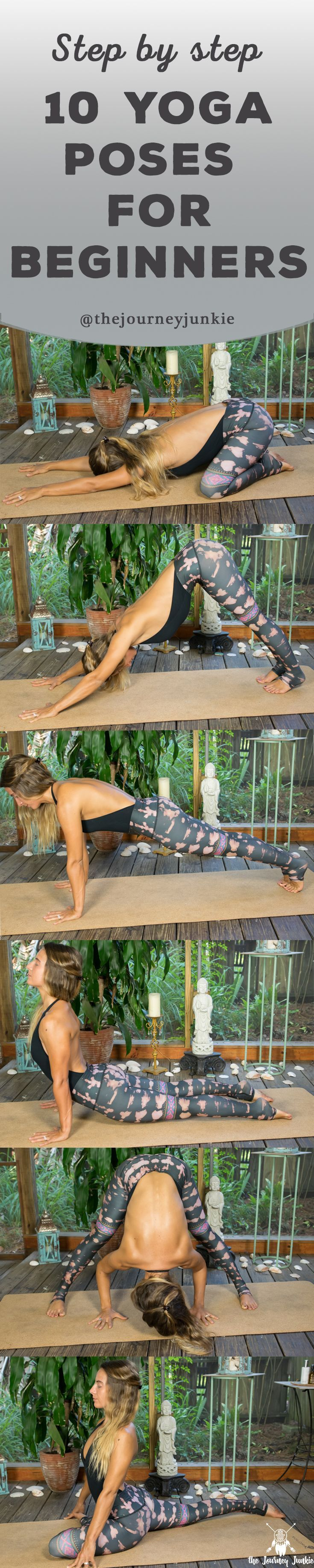 New to yoga? Learn 10 common yoga poses that will help create and shape your…