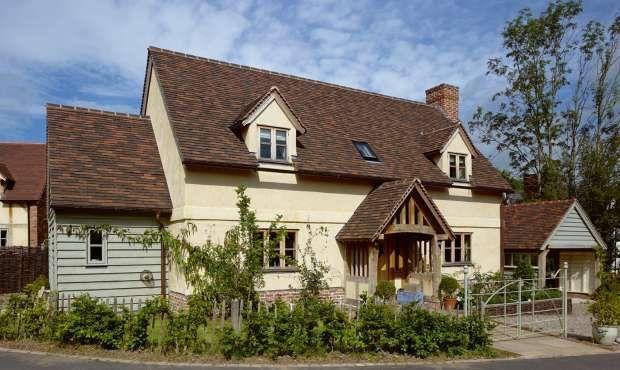 Border Oak Cottage (lime rendered with internal oak frame) from Homebuilding & Renovating Magazine
