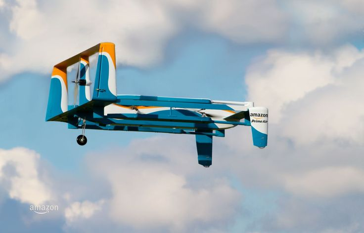 Jeremy Clarkson explains how Amazon Prime Air drone delivery service works