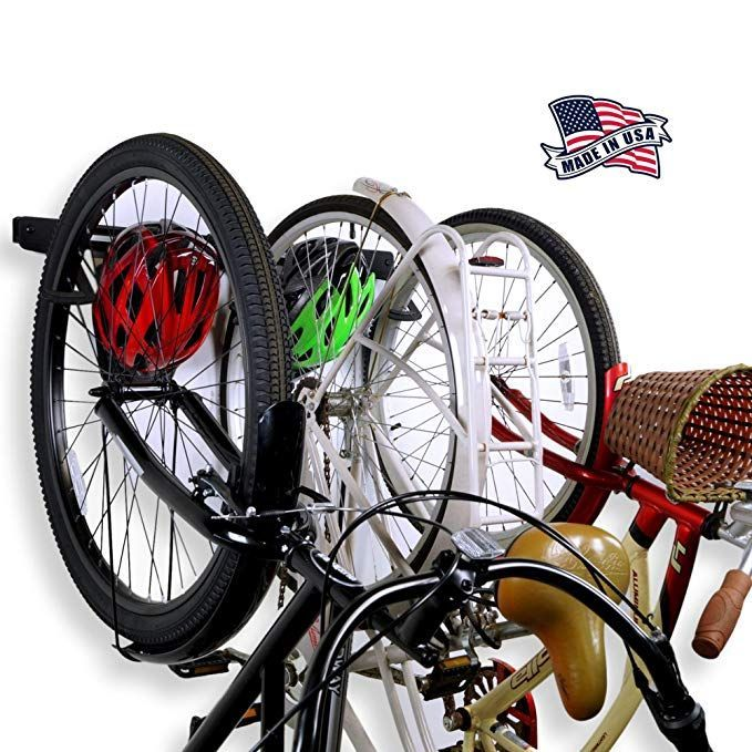 Vertical Bike Storage Rack for Indoor Dirza Bike Wall Mount with Tire Tray