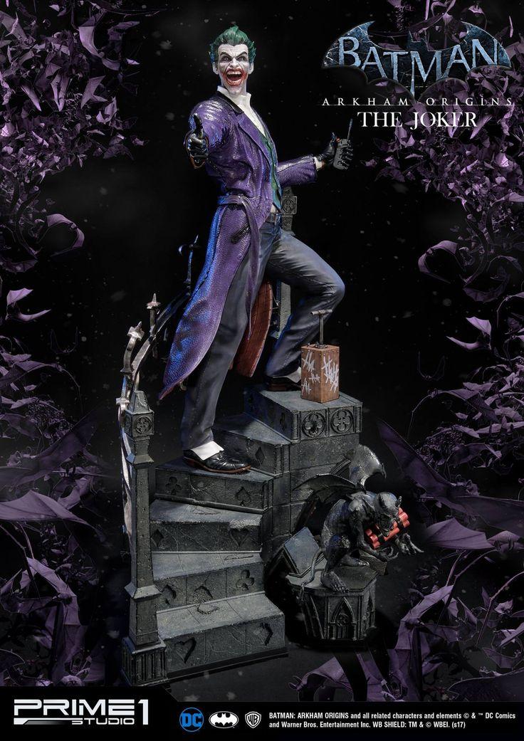 Prime 1 Studio Batman: Arkham Origins Joker Statue