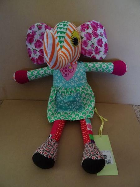 Madam monkey needs a friend  http://www.nestling.com.au/sale---baby-accessories-c73/toys-c44/kavishka-elephant-girl-p1120/
