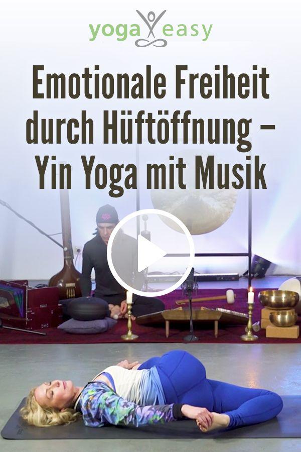 Emotionale Freiheit durch Hüftöffnung – Yin Yoga mit Musik
