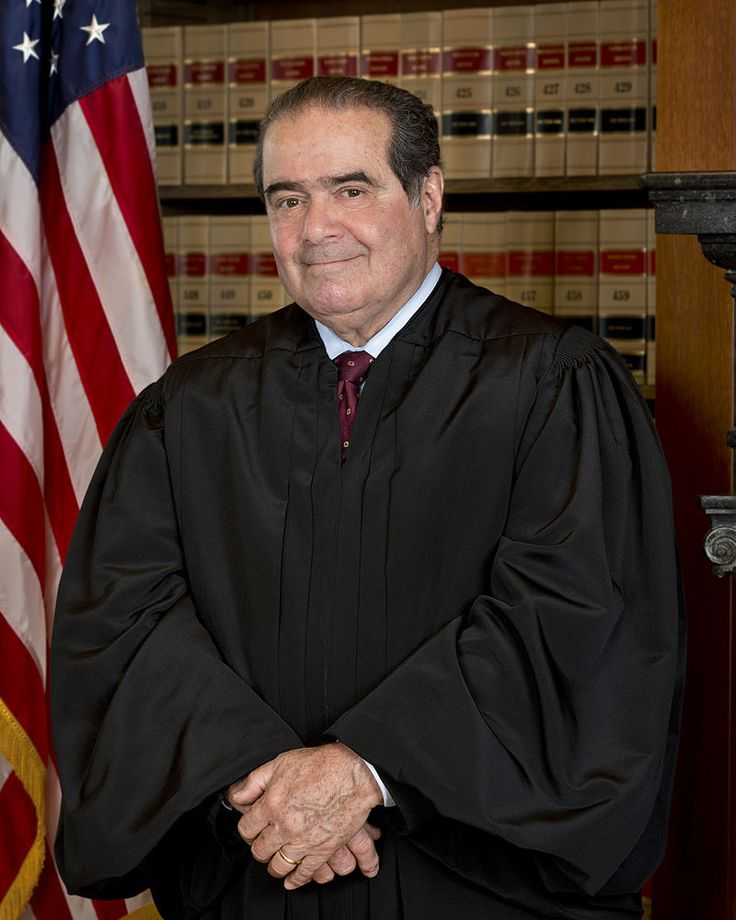 Antonin Scalia, the longest-serving Justice on the current U.S. Supreme Court bench. RIP