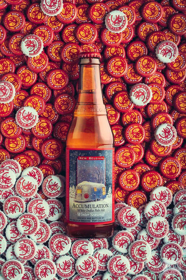 New Belgium Accumulation White IPA. Product photo by JMVDIGITAL. #beer #studio #advertising