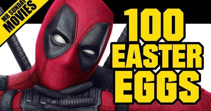 100 'Deadpool' Easter Eggs You May Have Missed -- Take a deep dive through 20th Century Fox's 'Deadpool' with a new eight-minute video that points out all of the obscure comic and pop culture references. -- http://movieweb.com/deadpool-movie-easter-eggs/