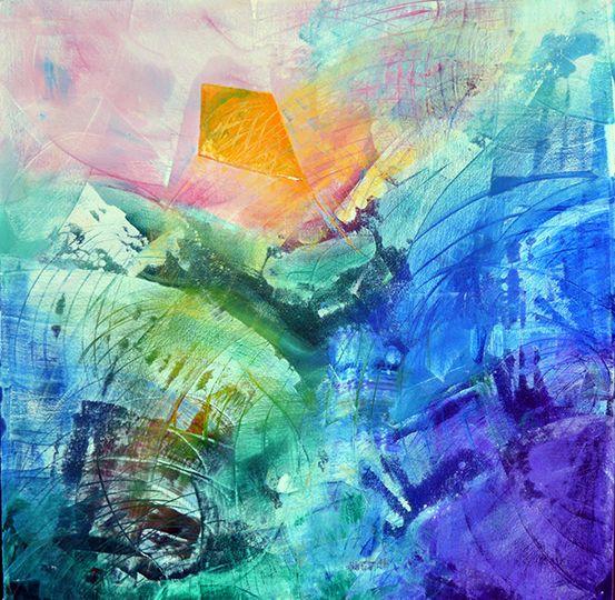'Kite' by Uxbridge Ontario artist Carolyn Bather. Carolyn's love of texture of…