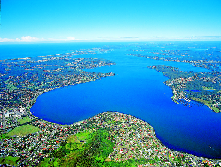 Lake Macquarie is twice the size of Sydney Harbour!