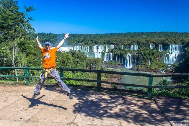 Viviendo las Cataratas del Iguazú, Argentina y Brasil