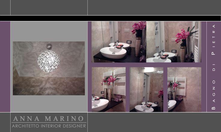 Ristrutturazione di un bagno piccolissimo rendendolo uno scrigno di bellezza ed eleganza.